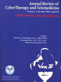 Annual Review of CyberTherapy and Telemedicine, Volume 4, 2006